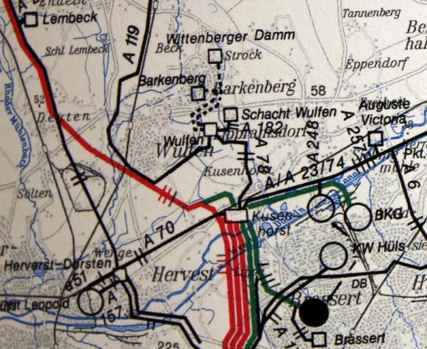 hochspannungsleitung karte deutschland Stromleitungen   Wulfen Wiki